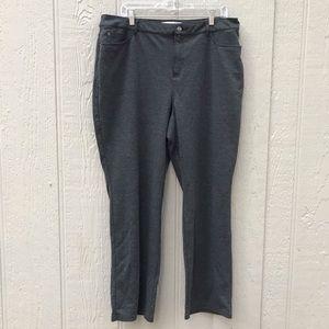 Croft and Barrow | dark grey dress slacks bootcut